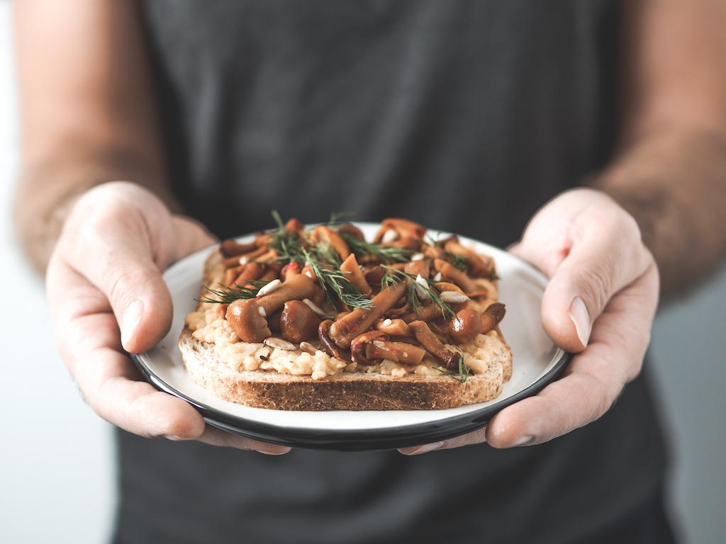 De lekkerste vegetarische geroosterd brood recepten
