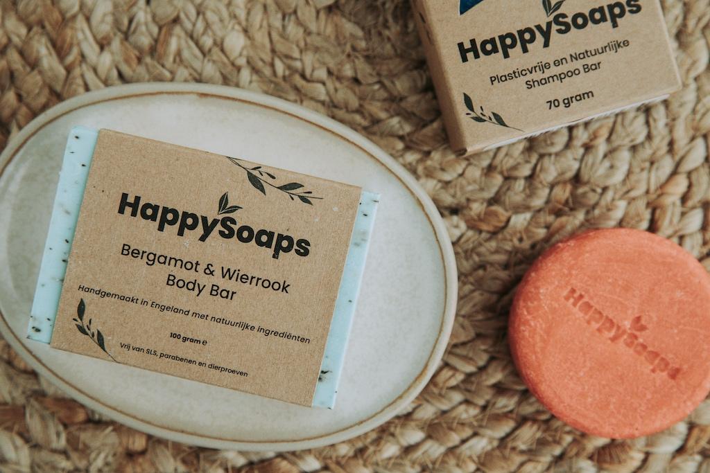 HappySoaps shampoo bars: 100% plasticvrij, rotzooi-vrij en natuurlijk je haar wassen